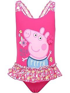 Peppa Pig Kids Boys And Girls Licensed Merchandise Swimming Costume
