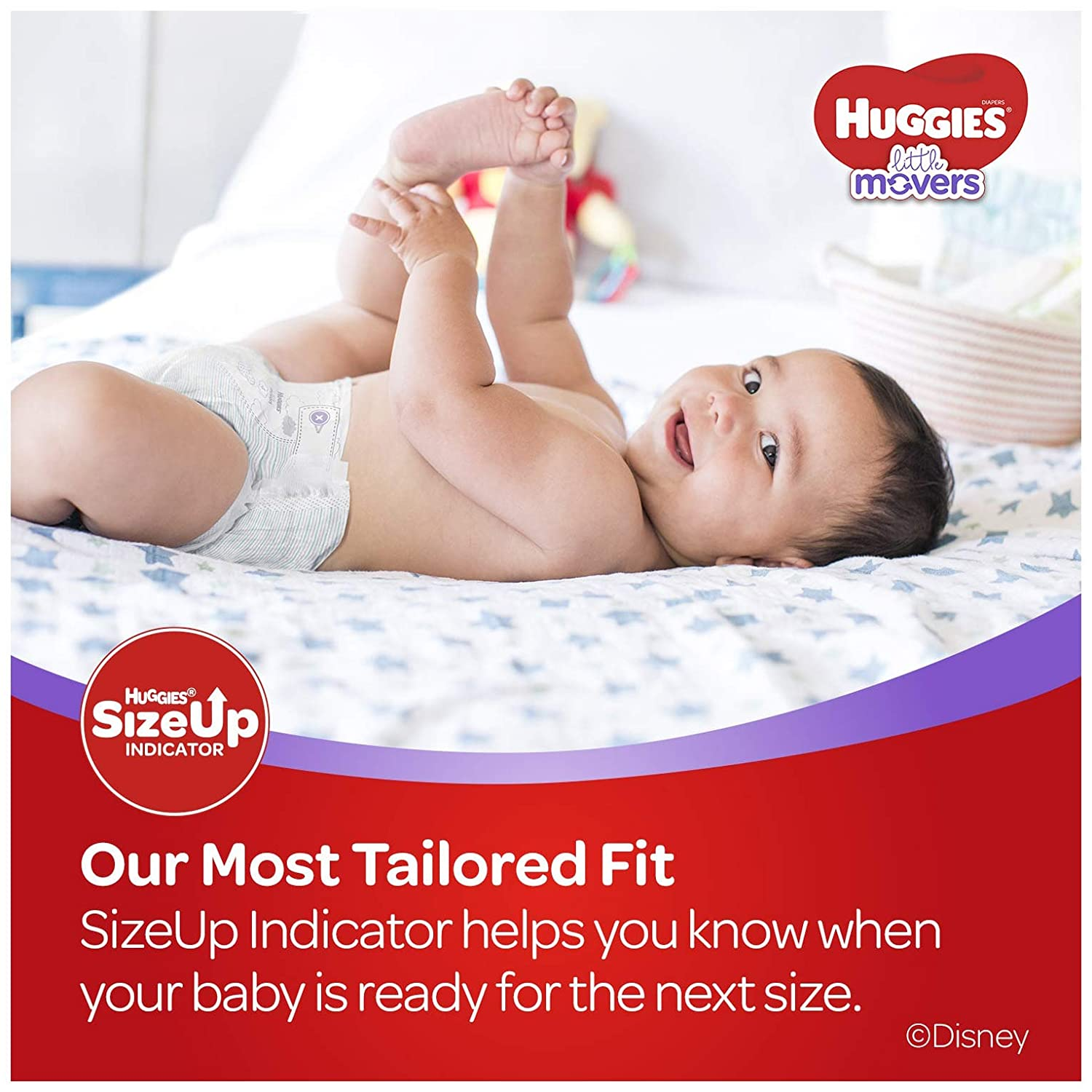 Huggies Little Movers Baby Diapers2