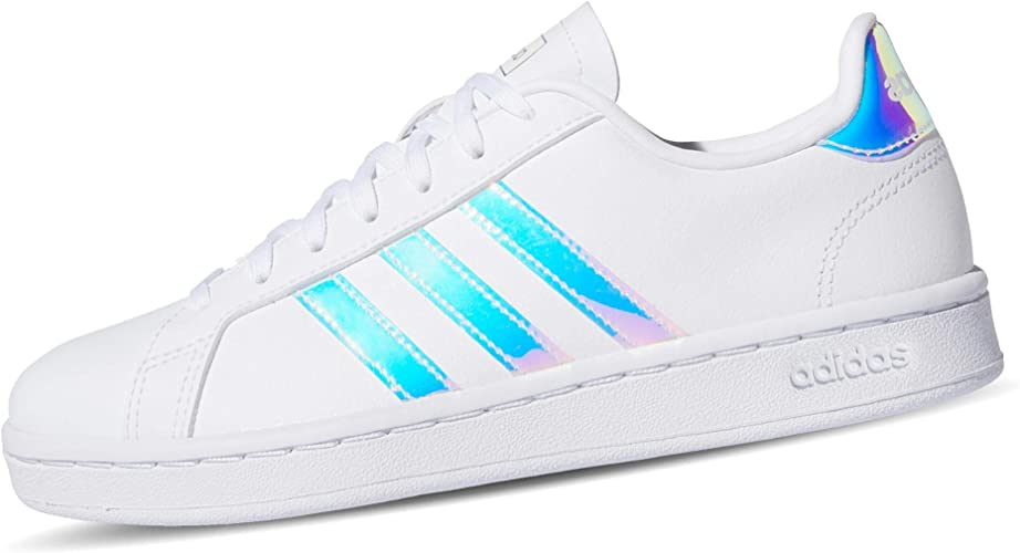 basket adidas blanc grand court k
