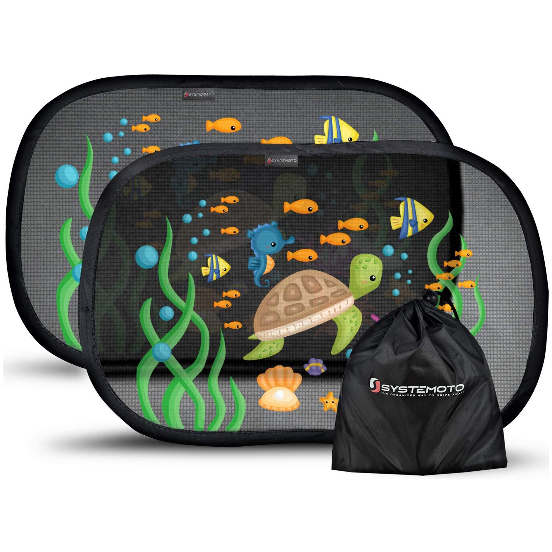 sonnenschutz auto baby uv schutz 2 st ck sonnenblende kinder seitenfenster ebay. Black Bedroom Furniture Sets. Home Design Ideas