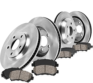 2003 2004 2005 2006 2007 Volvo XC70 Rotors Metallic Pads R OE Replacement