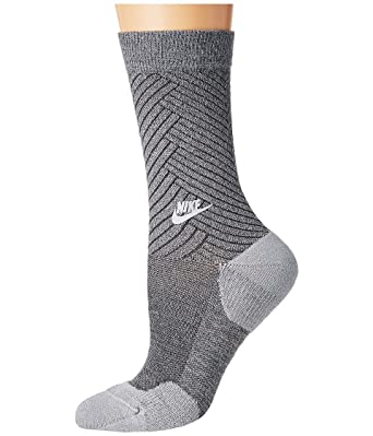 Nike NSW Womens Texture Crew Calcetines, Mujer, Gris (Wolf Dark Grey),