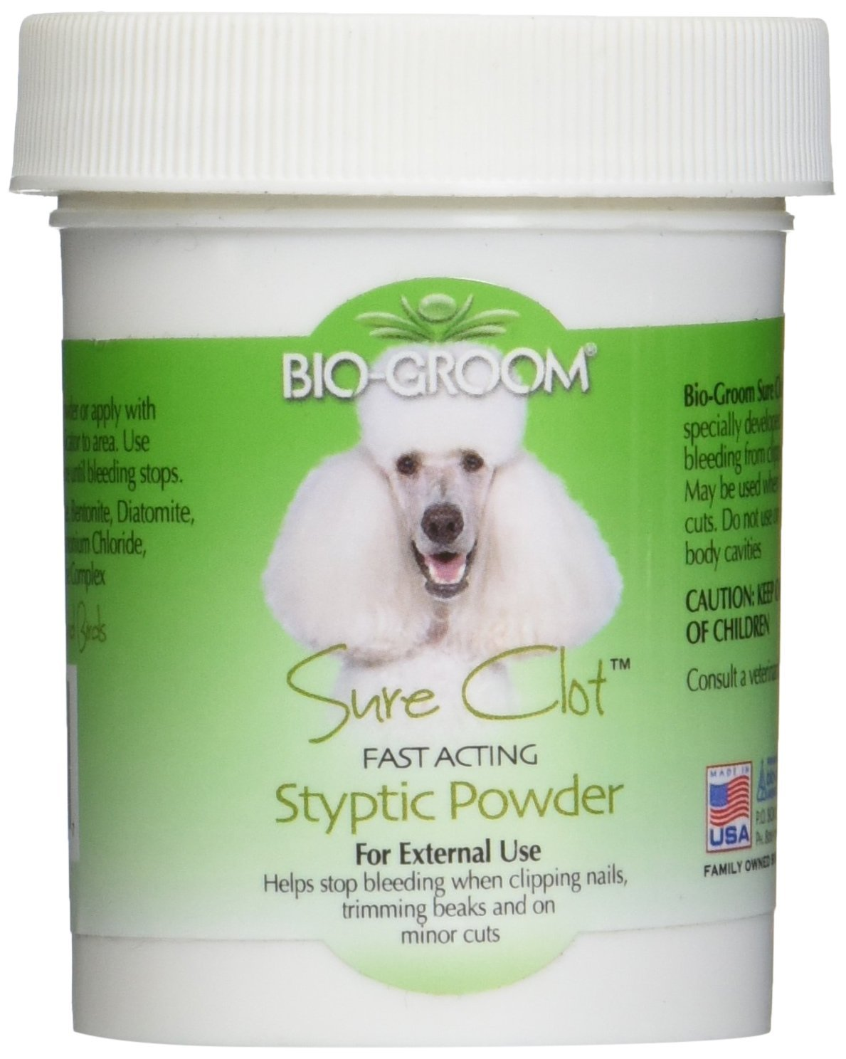 Bio-Groom Sure Clot Styptic Powder 1.5 Oz