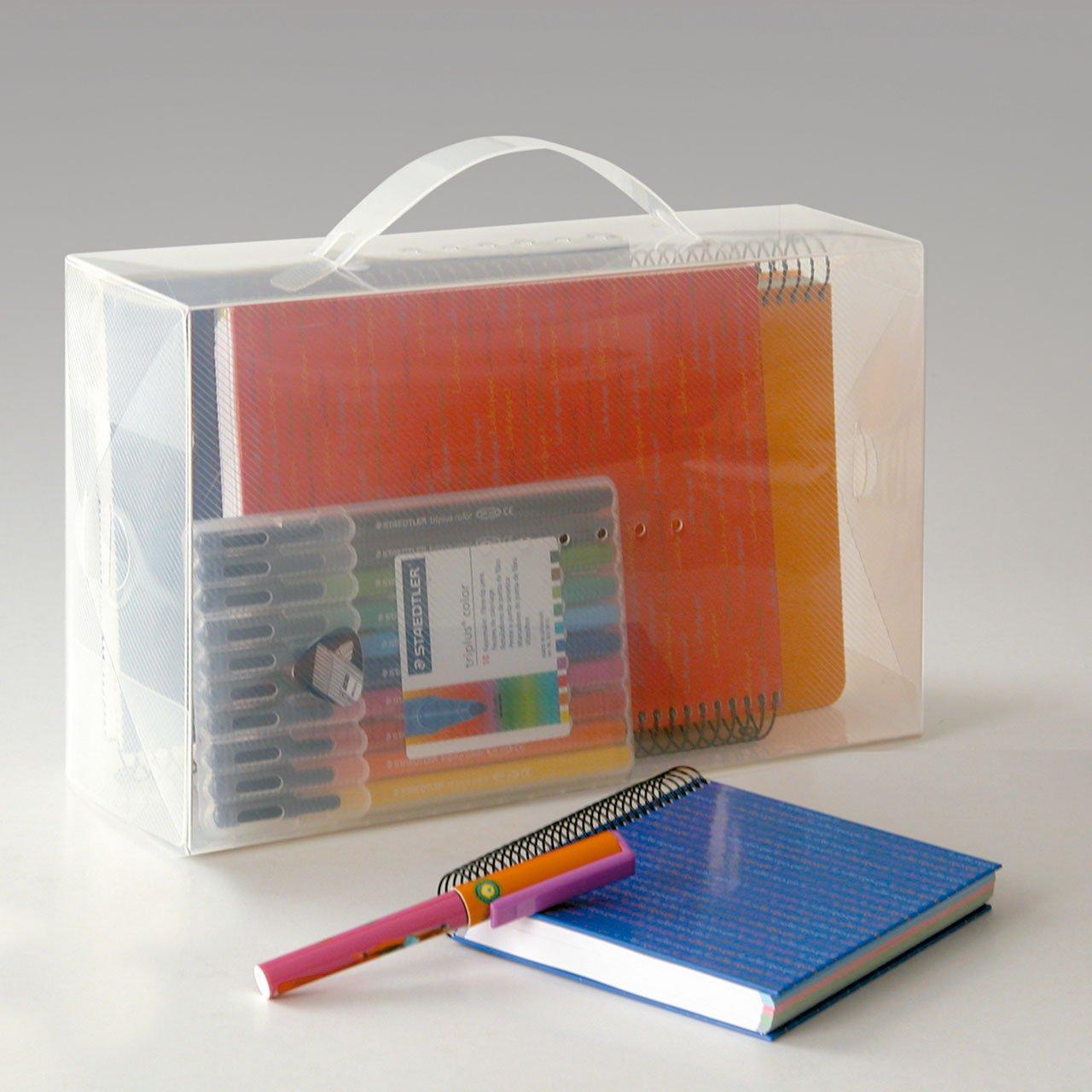 Rayen 2233 Pack De 3 Cajas De Pl Stico Transparente Talla S 30