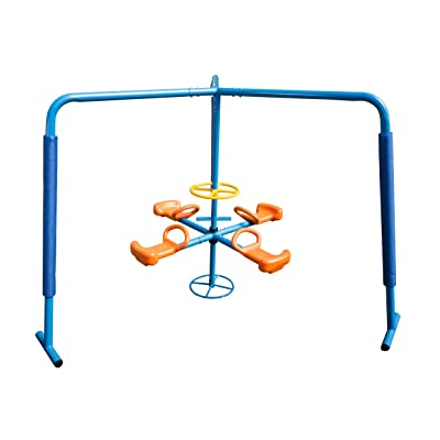 Ironkids Four Station Fun Filled Merry Go Round: Toys & Games