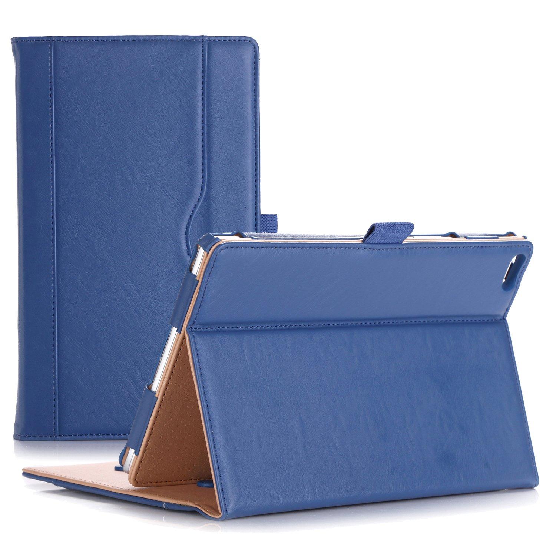 ProCase Lenovo Tab 4 8 Case - Stand Folio Case Protective Cover for Lenovo Tab 4 8'' Tablet 2017 Release ZA2B0009US -Navy