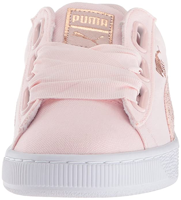 Puma PUMAPUMA 366495 Basket Heart Canvas Wn Damen: Amazon