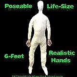 2-PC-Life Size Body-STUFFED POSEABLE