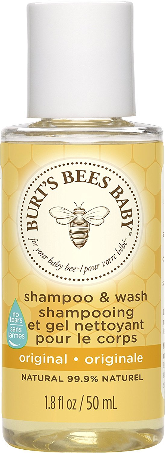 Burt's Bees Baby Shampoo & Wash, Original, 1.8 Ounce Travel Size (Pack of 12)