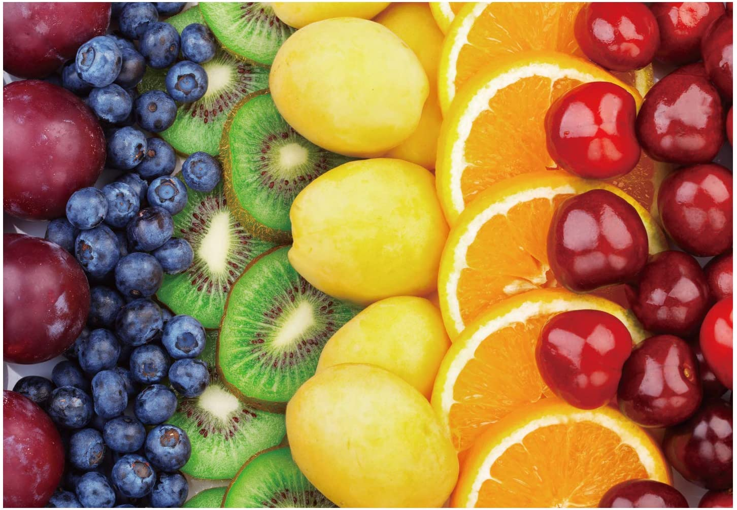 Jigsaw Puzzles 1000 Piece Fruit Large Adult Jigsaw, Fun Family Game Intellective Educational Toy,Unique Design DIY Home Decoration