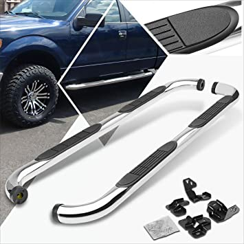 """2009-2014 FORD F150 SUPER CREW// CREW CAB 3/"""" S//S SIDE STEP NERF BAR RUNNING BOARD"""