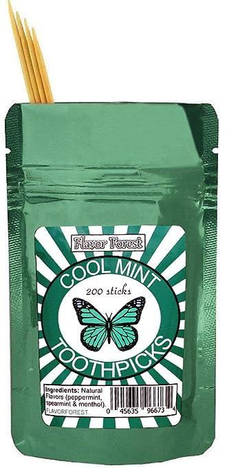 amazon com mint flavored toothpicks 200ct breath mints beauty