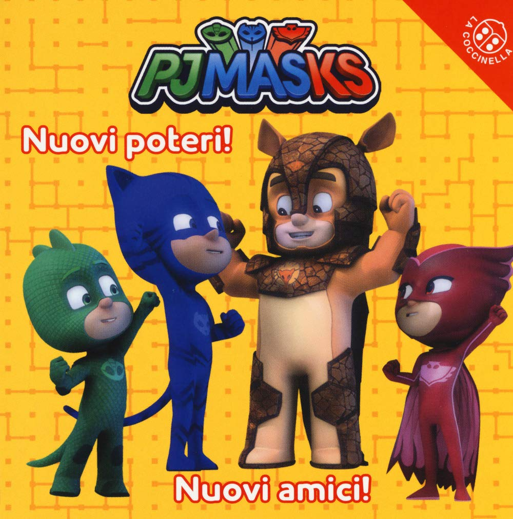 Nuovi poteri! Nuovi amici! Pj Masks. Ediz. a colori: Amazon ...