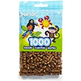 Perler Beads Pack (1000-Piece, Light Brown)