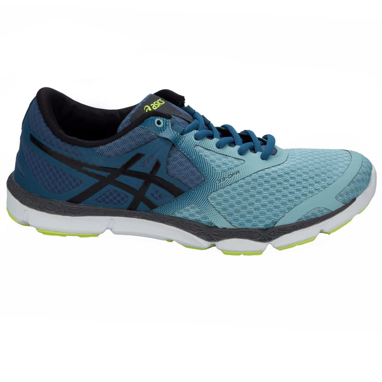 a5142370ce ASICS Mens Mens 33 DFA Running Trainers in Light Blue - UK 5.5:  Amazon.co.uk: Shoes & Bags
