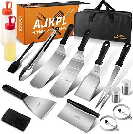 Outdor BBQ Blackstone Grill Accessories Set 22 PCS Griddle Barbecue Tools Kit