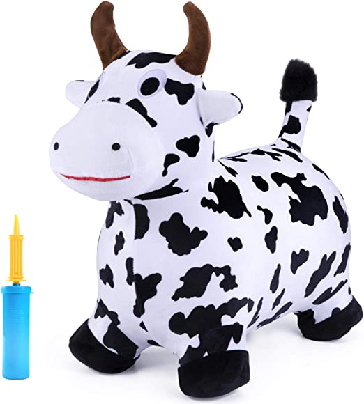 iPlay iLearn Cow Hopping Horse