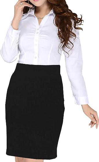 Minifalda para niña o mujer, ajustada al cuerpo, para el colegio o la ...