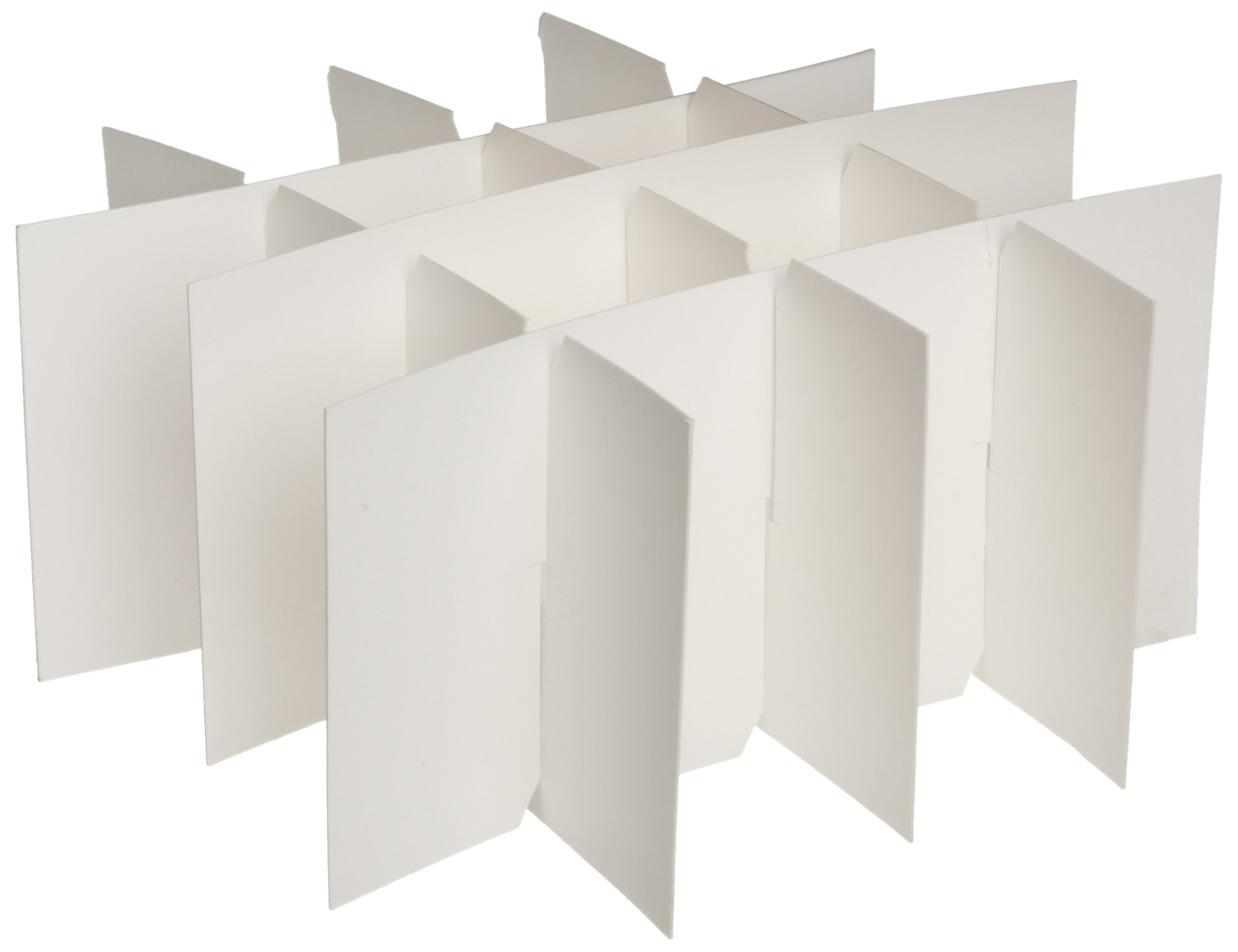 Heathrow Scientific HD2860P Cardboard Cryogenic 16 Cell Partition for 50mL Tubes (Pack of 10)