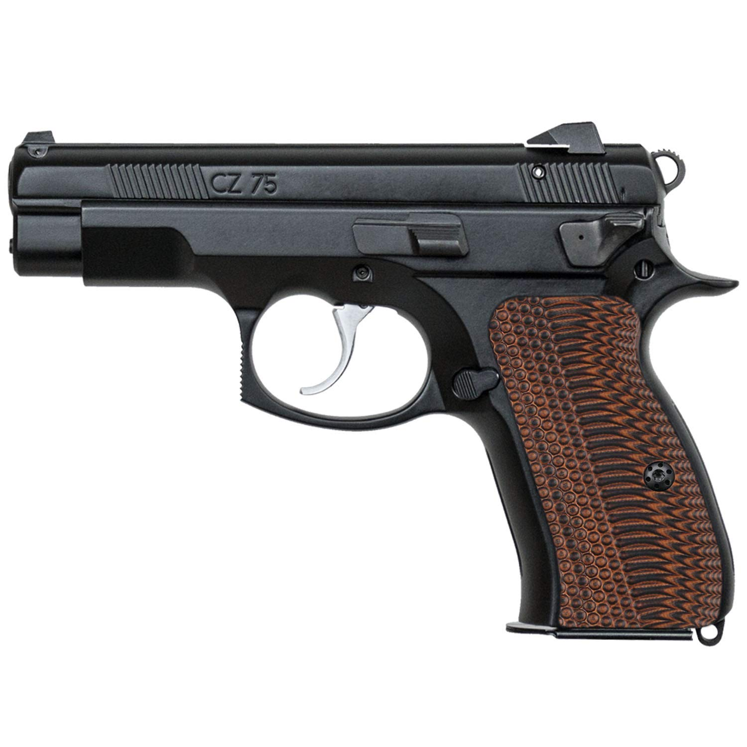 Cool Hand G10 Grips for CZ 75 Compact, Free Screws Included, OPS Texture (Tiger Stripe) by Cool Hand