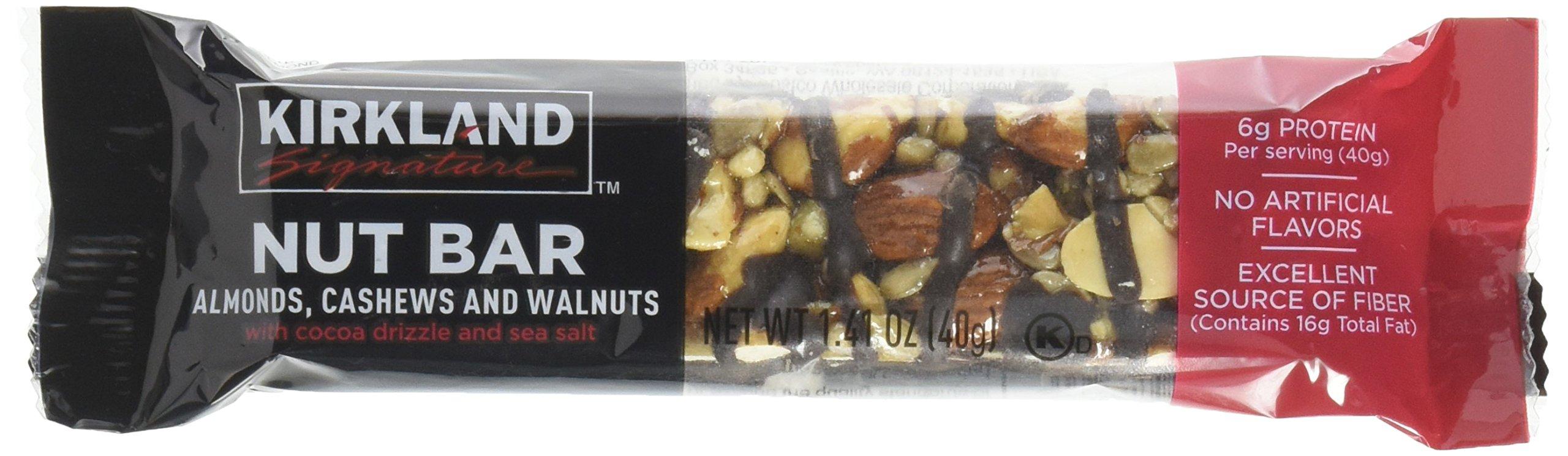 Kirkland Signature Nut Bars 30/1.4 OZ Net Wt 42.3 Oz, 42.3 oz