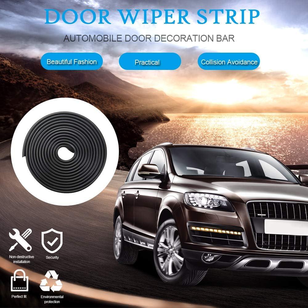 10 m Edhua Universal Auto T/ürkantenschutz durchsichtig Autot/ür Auto-Schutz passend f/ür Audi BMW Volkswagen Ford SUV 5 m, 8 m, 10 m T/ürkante Gummidichtung Schutzleiste