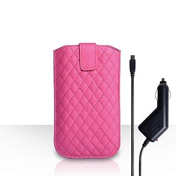 Yousave Accessories carcasa para Sony Xperia M4 Aqua Rosa Cálido ...
