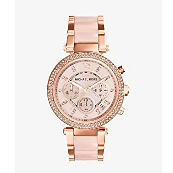 Michael Kors Rose Gold Watch Women