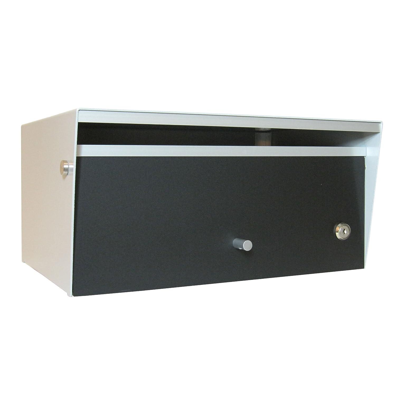 Box Design ポスト 郵便受け Metro Black B00W6HVXQU 28620 Black Black
