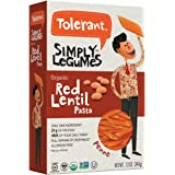 Tolerant Food – Organic Red Lentil Penne - 12 Ounce (340 Grams)