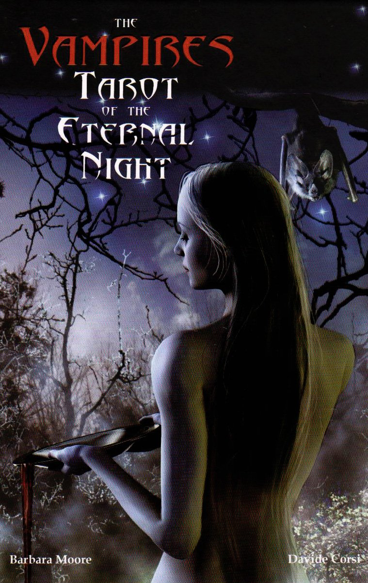 The Vampires Tarot Of The Eternal Night Kit: Davide Corsi, Barbara Moore,  Lo Scarabeo: 9780738719337: Amazon: Books