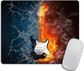 Alfombrilla de ratón, Ilustración de la Guitarra eléctrica Envuelta en ...