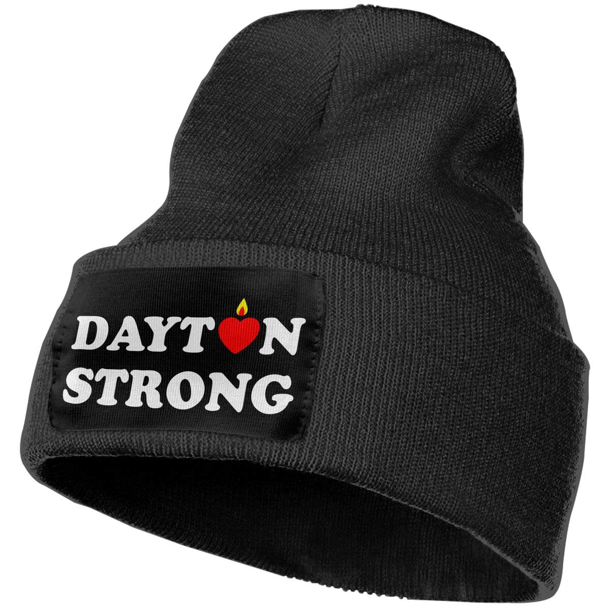 COLLJL-8 Unisex Dayton Strong Outdoor Fashion Knit Beanies Hat Soft Winter Skull Caps