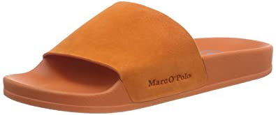 super popular 4ef6a 8b34e Marc O'Polo Beach Sandal, Damen Pantoletten, Orange (Orange ...