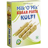 Milkomix Kesar Pista Kulfi Mix Flavored Milk Powder – 150g