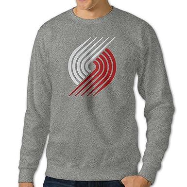 Portland Trailblazers Logo Custom Crew Neck Sweatshirts Sweaters For