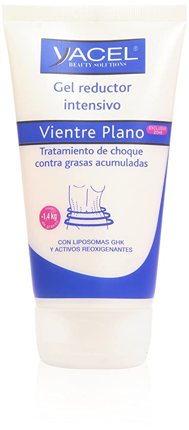 Yacel Beauty Solutions - Vientre Plano - Gel reductor intensivo 150 ml x 2 -