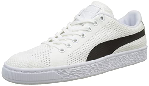 Puma Unisex Adults  Basket Classic Evoknit Low-Top Sneakers f9f4376b1