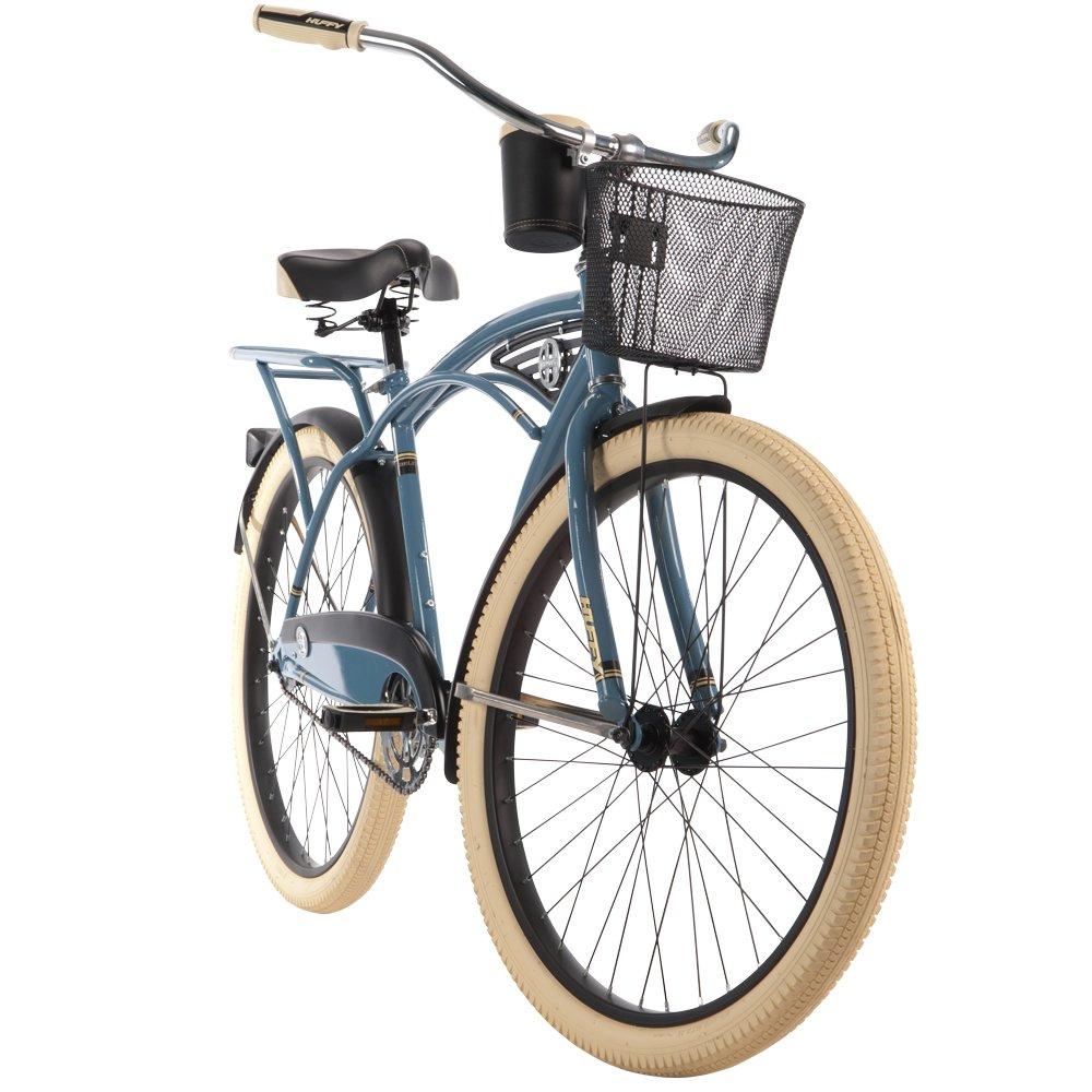 Huffy 26-inch Deluxe Men's' Cruiser Bike, Blue by Huffy (Image #9)
