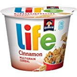 Life Cinnamon Multigrain Breakfast Cereal, 12 Individual Cups