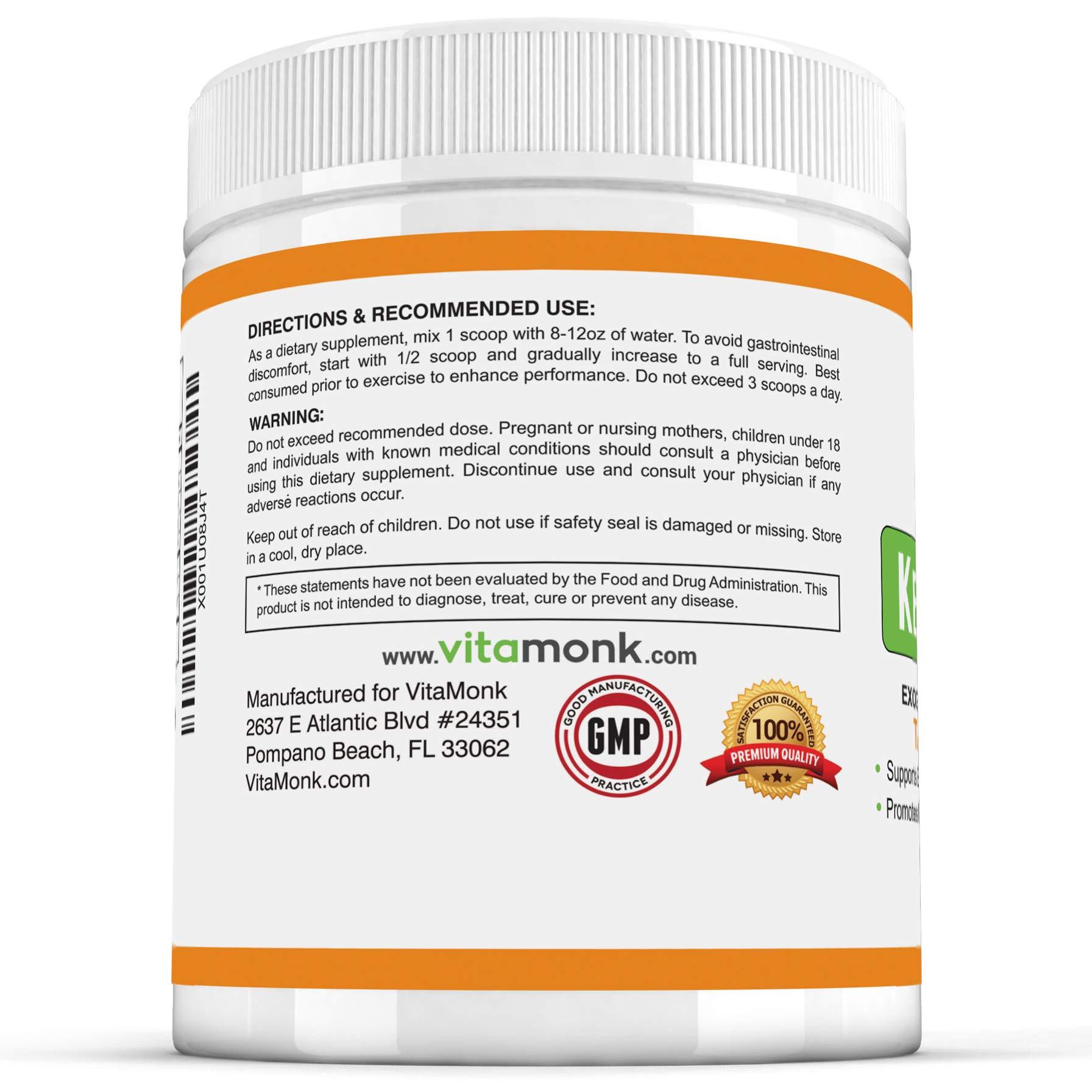 Ketosene XLTM 30 Servings Extra Large Exogenous Ketones Powder - Kickstart Ketosis Within 1-Hour with a Pure Blend of Calcium and Magnesium Ketone BHB Salts (KetoVantage® BHB) - Perfect Keto Diet Bulk by VitaMonk (Image #8)
