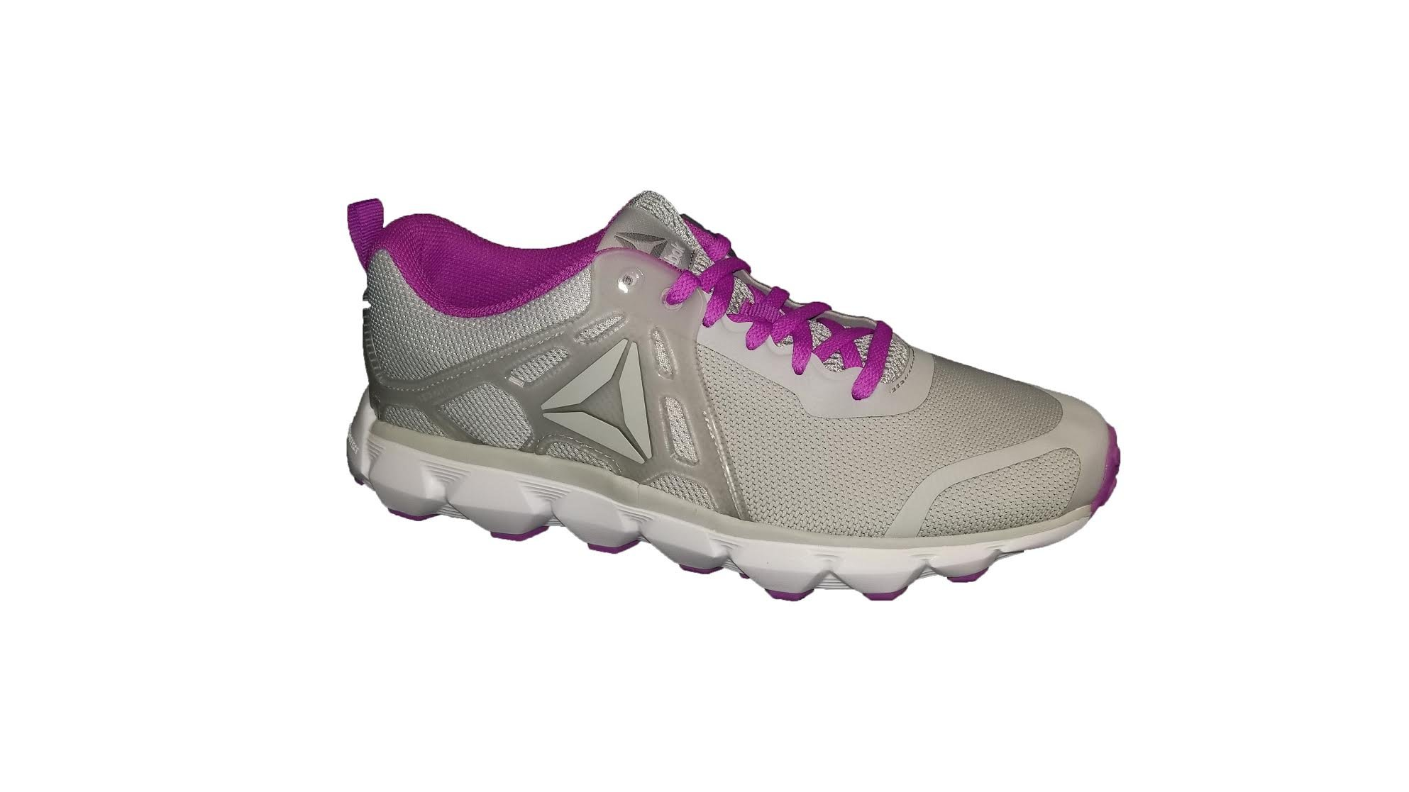 On Clearance most popular catch Reebok Women's Hexaffect Run 5.0 MTM Track Shoe Skull Flat Grey/Vicious  Violet/Pewter/White/Alloy, 6 M US