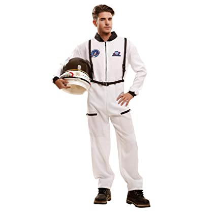 My Other Me Me-202625 Disfraz de astronauta para hombre, S (Viving Costumes 202625)