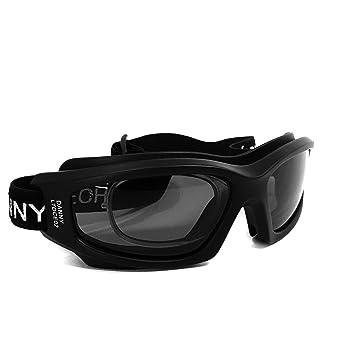 2be015670 Óculos Proteção DANNY D-TECH Esportivo Com Clipe Interno P/Lentes De Grau  Ideal