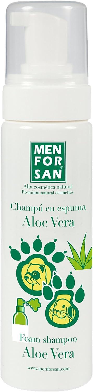MENFORSAN Champú en Espuma con aloe Vera para Roedores Y Hurones - 200 ml