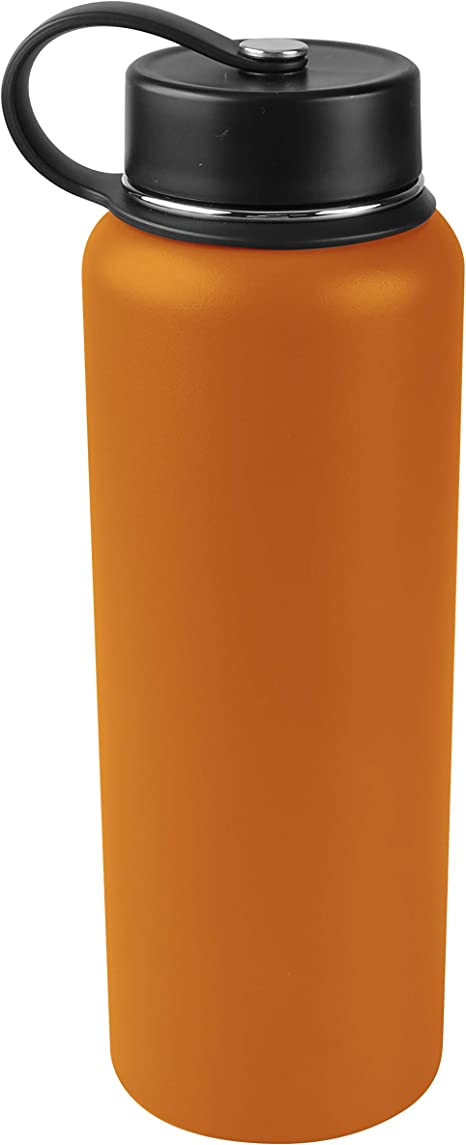 Dark Cheddar Tahoe Trails 32 oz Double Wall Vacuum Insulated Stainless Steel Water Bottle