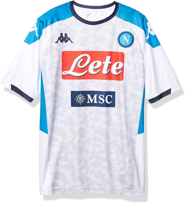 SSC Napoli Réplica de camiseta de tercera equipación temporada 2019/2020: Amazon.es: Ropa y accesorios