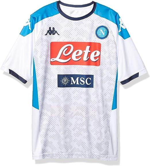 Napoli Retro Camiseta S.S.C Hombre