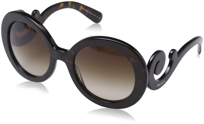 Prada Damen Sonnenbrille PR 27NS Minimal Baroque Rund, Gr. One Size ...
