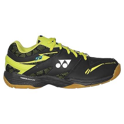 9dd522f2cf532 Amazon.com : Yonex Power Cushion 55 Mens Indoor Court Shoe (Black ...